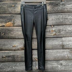 Blank NYC Black Pull-On Leggings Vegan Leather